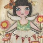 Joy ANGEL 5x7 ART card PRIN..