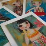 Summer THEME set of 4 ART C..
