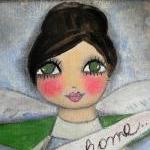 Bless this Home 12x12 angel..