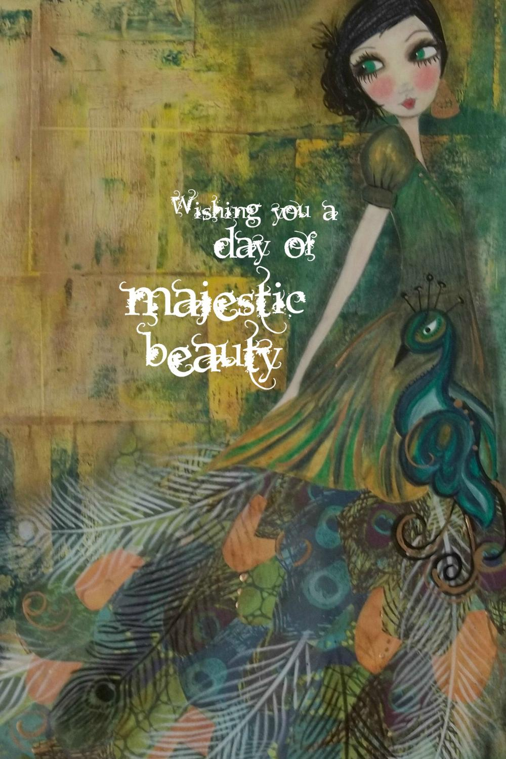 Majestic Beauty 5x7 ART CARD
